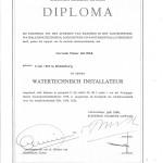 Diploma watertechnisch installateur